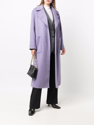 MICHAEL Michael Kors Belted Single-Breasted Coat