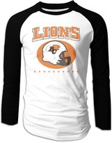 Sofia BC Lions Canadian Football Logo Long Sleeve Baseball Shirts For Men M