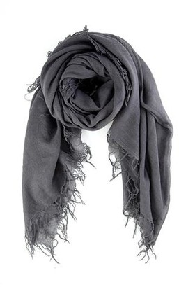 Chan Luu Eiffel Tower Cashmere And Silk Scarf