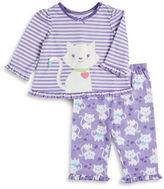Little Me Kitty Pajama Set