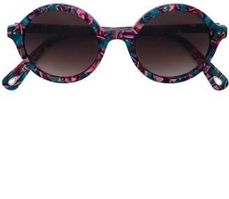 Lele Sadoughi round tinted sunglasses