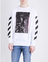 Off-White Mirror Mirror cotton-jersey sweatshirt