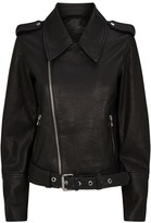 J Brand Maysen Belted Leather Jacket