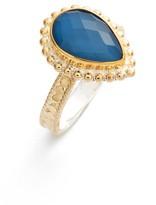 Anna Beck Women's Blue Quartz Teardrop Ring