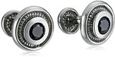 Rotenier Black Onyx Bearing Cufflinks