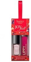 Butter London Joyfull Nail Lacquer & Lippy Liquid Lipstick Set - No Color