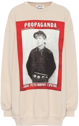 Acne Studios Printed cotton sweatshirt