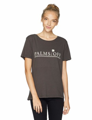 O'Neill Women's Hands Off S/S Screen Print Tee