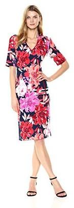 Ronni Nicole Women's Bold Floral Midi