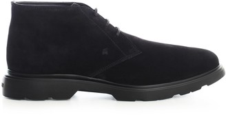 Hogan H393 Derby Laced Ankle Boots