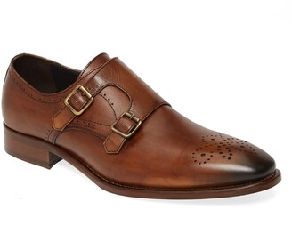 Johnston & Murphy Cormac Double Monk Strap Shoe
