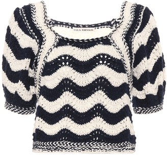 Ulla Johnson Luciana cotton and wool top