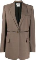 Bottega Veneta tailored belted blazer