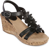 Yuu Roonie Wedge Sandals