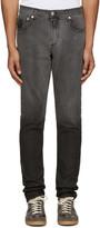 Alexander McQueen Black Dip Dyed Jeans