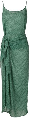 Track & Field Tribos Softmax sarong dress