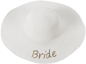 Cathy's Concepts Bride Sun Hat