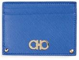 Salvatore Ferragamo Saffiano Leather Card Case
