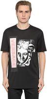 Versace Medusa Printed Cotton Jersey T-Shirt