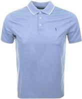 Ralph Lauren Tipped Polo T Shirt Blue