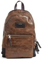 John Varvatos 'Gibson' Suede Backpack