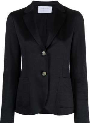 Harris Wharf London Notched-Lapel Single-Breasted Blazer