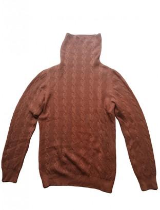 Etro Orange Cashmere Knitwear for Women