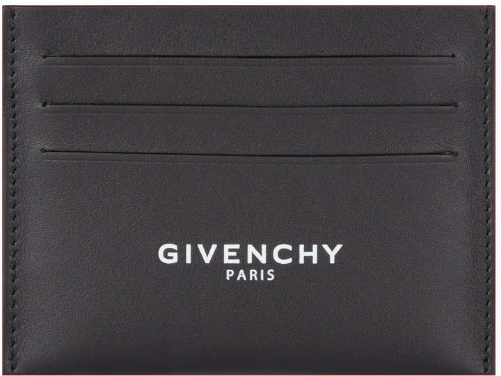 Givenchy Leather Logo Card Holder