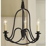 Pottery Barn Armonk 3-Arm Chandelier