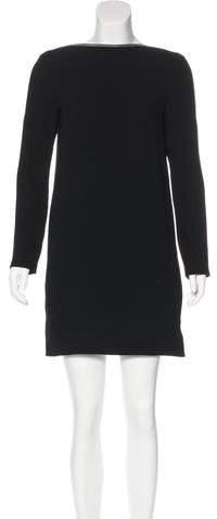 Celine Zip-Accented Mini Dress