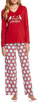 Sleep Sense Winter Birds Pajamas