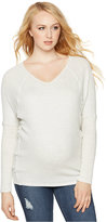 A Pea in the Pod Maternity Long-Sleeve V-Neck Tee