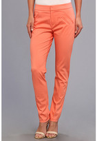 Christin Michaels Ankle Pant with Angle Slit Pockets
