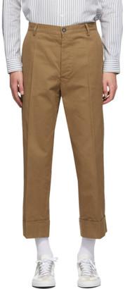 President's Khaki Lavoratore Trousers