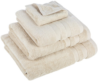 Essentials Pima Towel - Ivory - Face Cloths - Set of 3