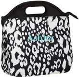 PBteen Gear-Up Black Cheetah Tote Lunch Bag