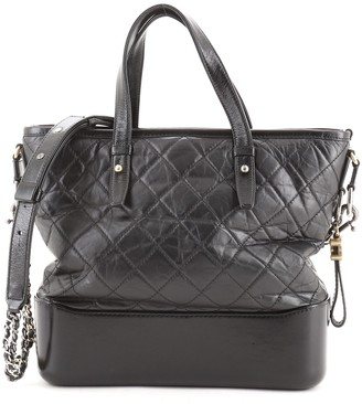 Chanel Gabrielle Shopping Tote Quilted Calfskin Medium