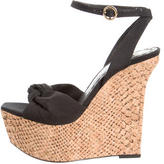 Alice + Olivia Multistrap Platform Wedges