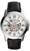 Fossil Men's ME3101 Analog Display Automatic Self-Wind Black Watch