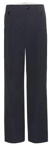 Marc Jacobs Straight-leg cotton trousers
