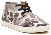 Toms Paseos Palm Tree Print Mid Sneaker