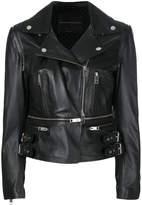 Ermanno Scervino fitted biker jacket