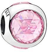 Pandora Women Silver Bead Charm - 792095PCZ