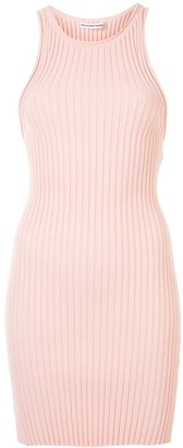 Alexander Wang Fitted Ribbed Knit Dress