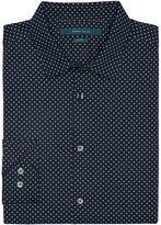 Perry Ellis Slim Fit Circle Dot Print Shirt