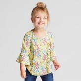 Genuine Kids from OshKosh Toddler Girls' Ruffle Front Blouse - Genuine Kids® from OshKosh® Province Yellow