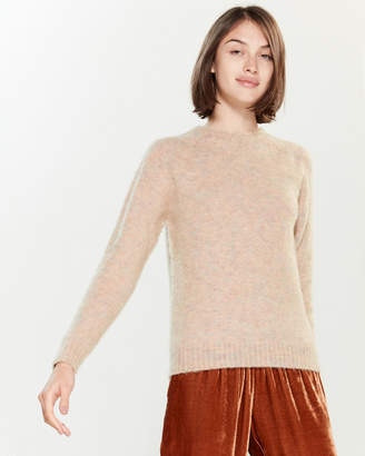 Roberto Collina Marled Long Sleeve Sweater