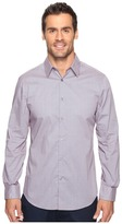 Perry Ellis Regulat Fit Stretch Mini Paisley Shirt