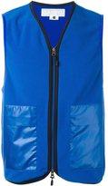 Comme des Garcons two way zipper vest