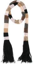 Mayle Knit Patterned Scarf